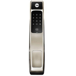 Ymg40 Push Amp Pull Door Lock Fingerprint Pin Code